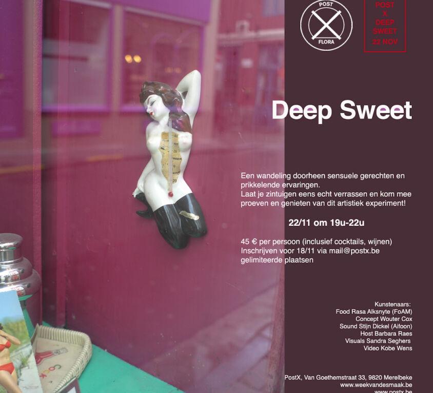 "<font color=""#f44336"">Deep Sweet<br>november 2014</font>"
